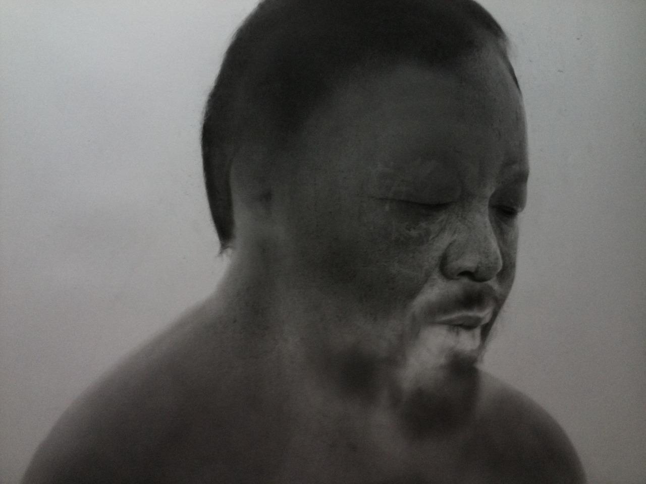 Douglas McDougall: 'Forever' (Study of Ai Weiwei) No.2