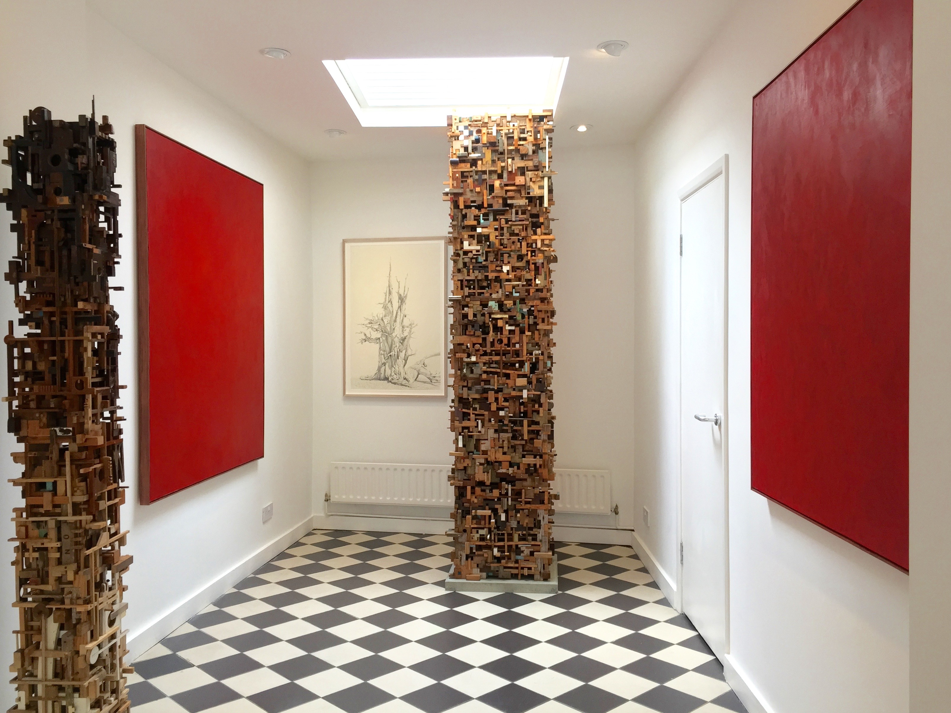 Anders Knutsson: Installation View, In a Silent Way, Knight Webb Gallery