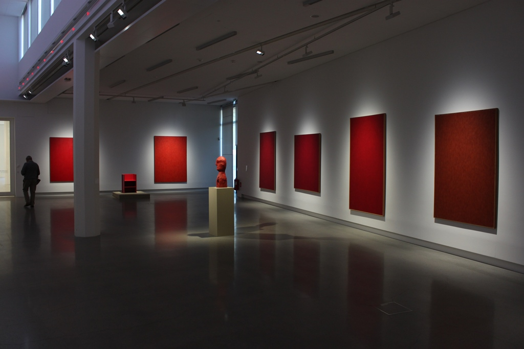 Anders Knutsson: Knutsson 'Red Room' at Artipelag Stockholm 2015