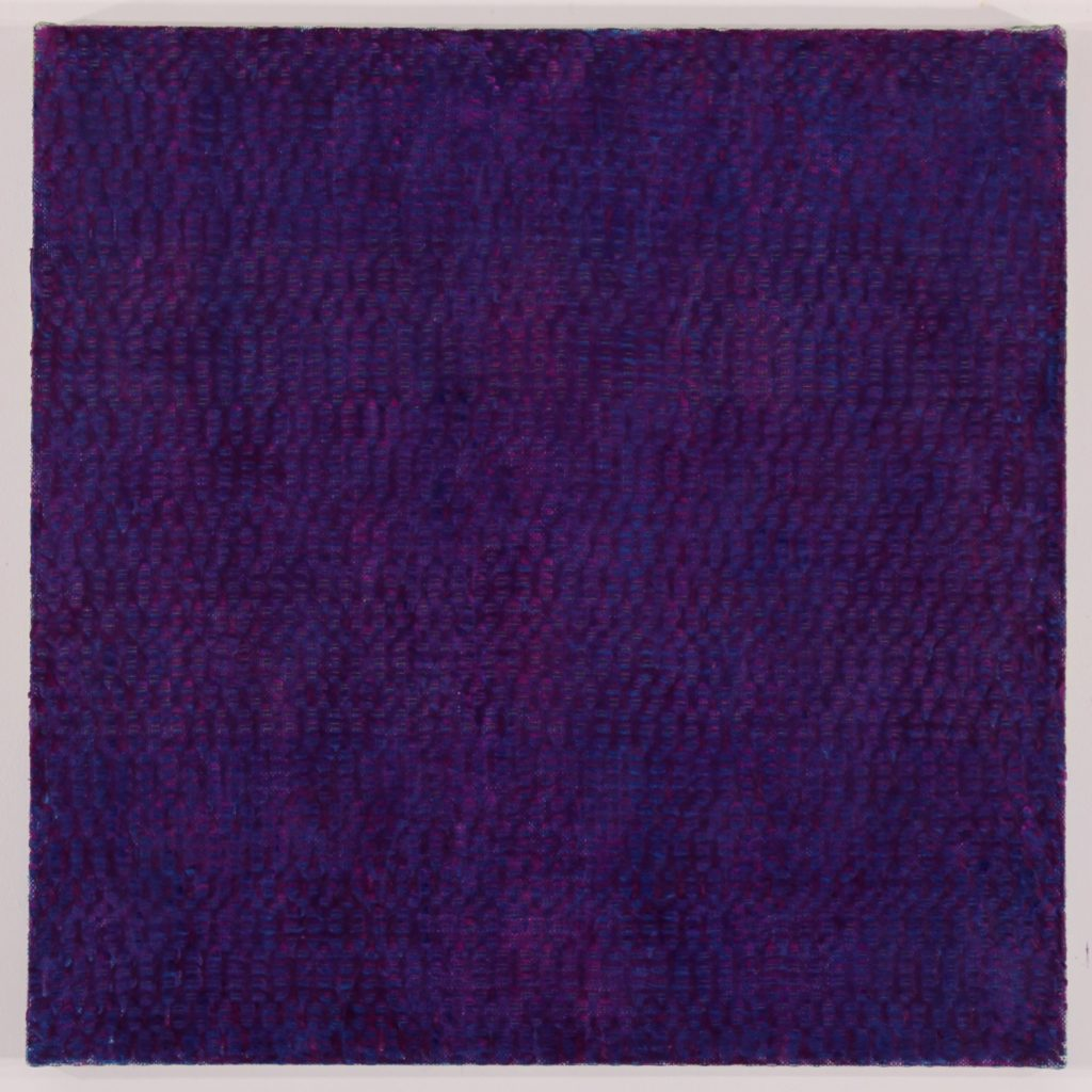 Anders Knutsson 'Promise Me, Violet' 2015 32 x 32 inches / 81 x 81 cm Wax oil on linen