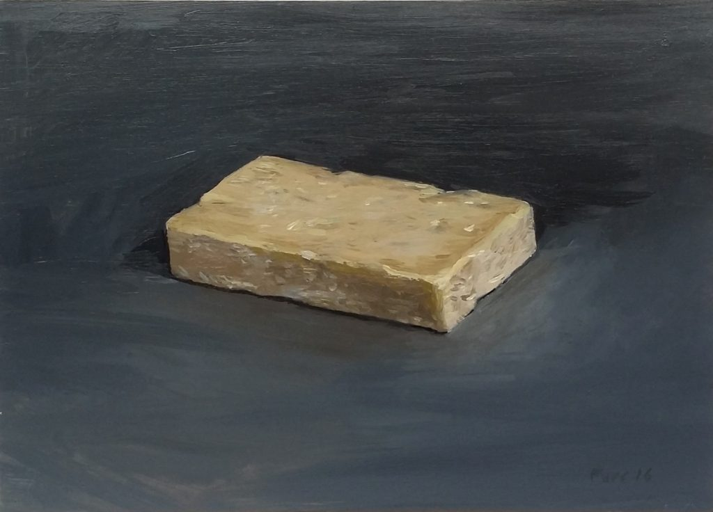 Christian Furr 'Cheddar' 2016 22 x 31 cm Oil on Board