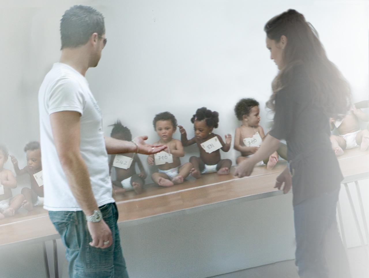 Alison Jackson: Brangelinas at the Orphanage