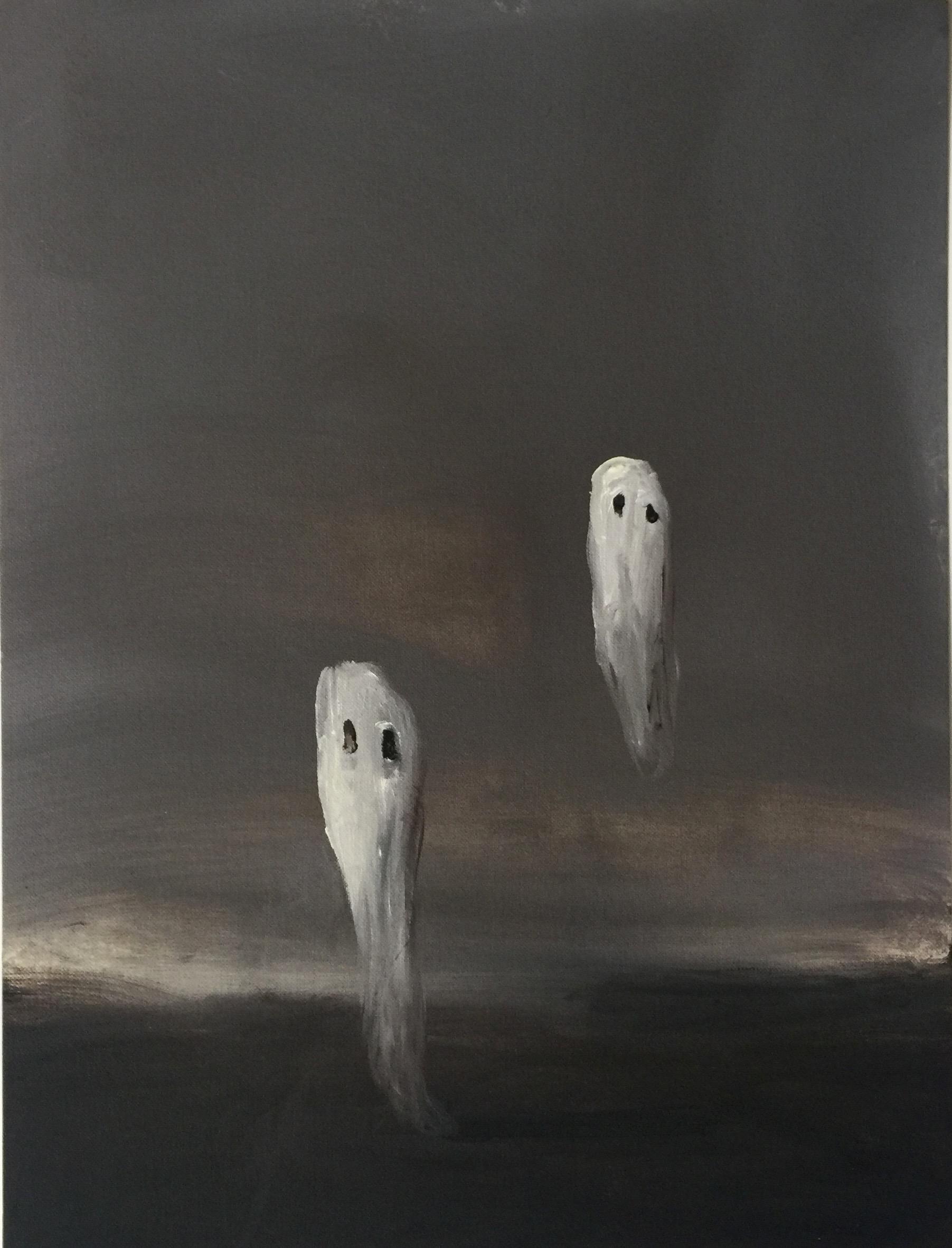 Joseba Eskubi: No.32 'Untitled – (Grey ghosts)'