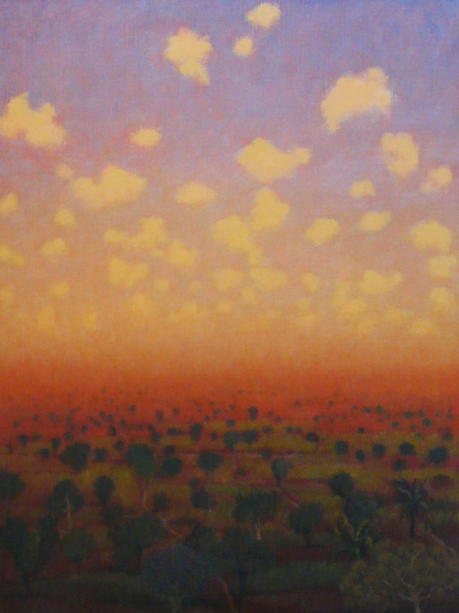 Tobit Roche: Indian Landscape No.6