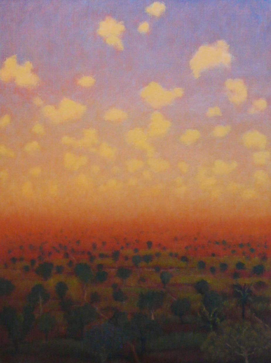 Tobit Roche: Indian Landscape No.6
