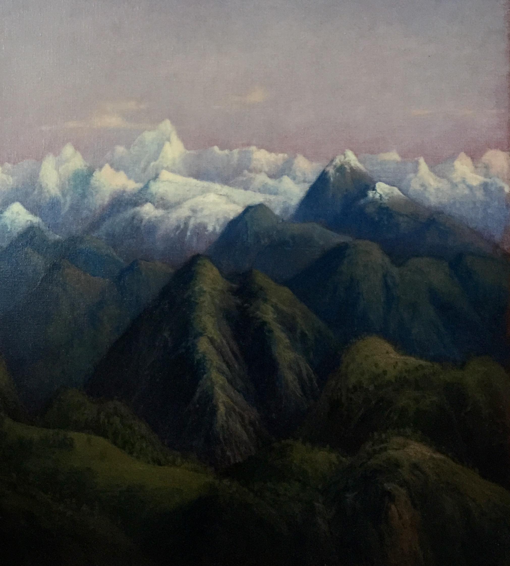 Tobit Roche: Himalayan Landscape No.5