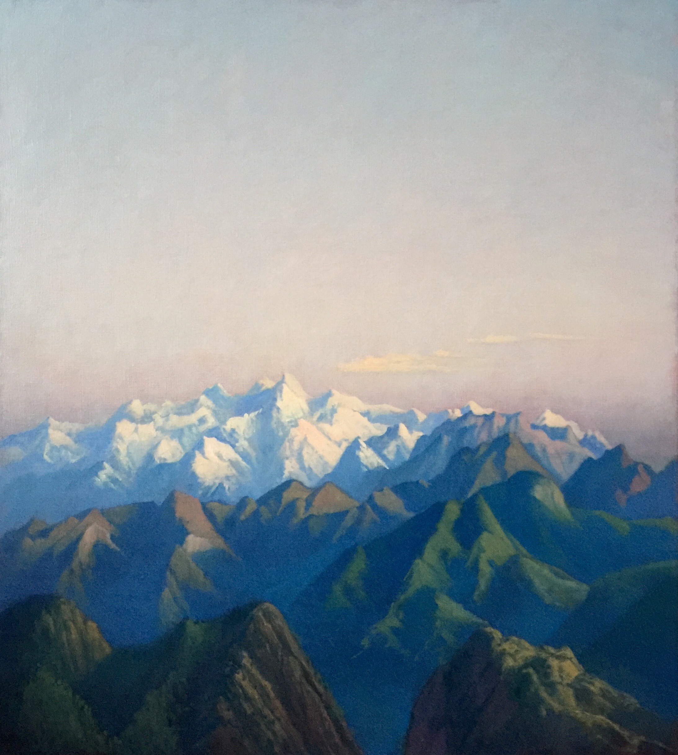 Tobit Roche: Himalayan Landscape No.8