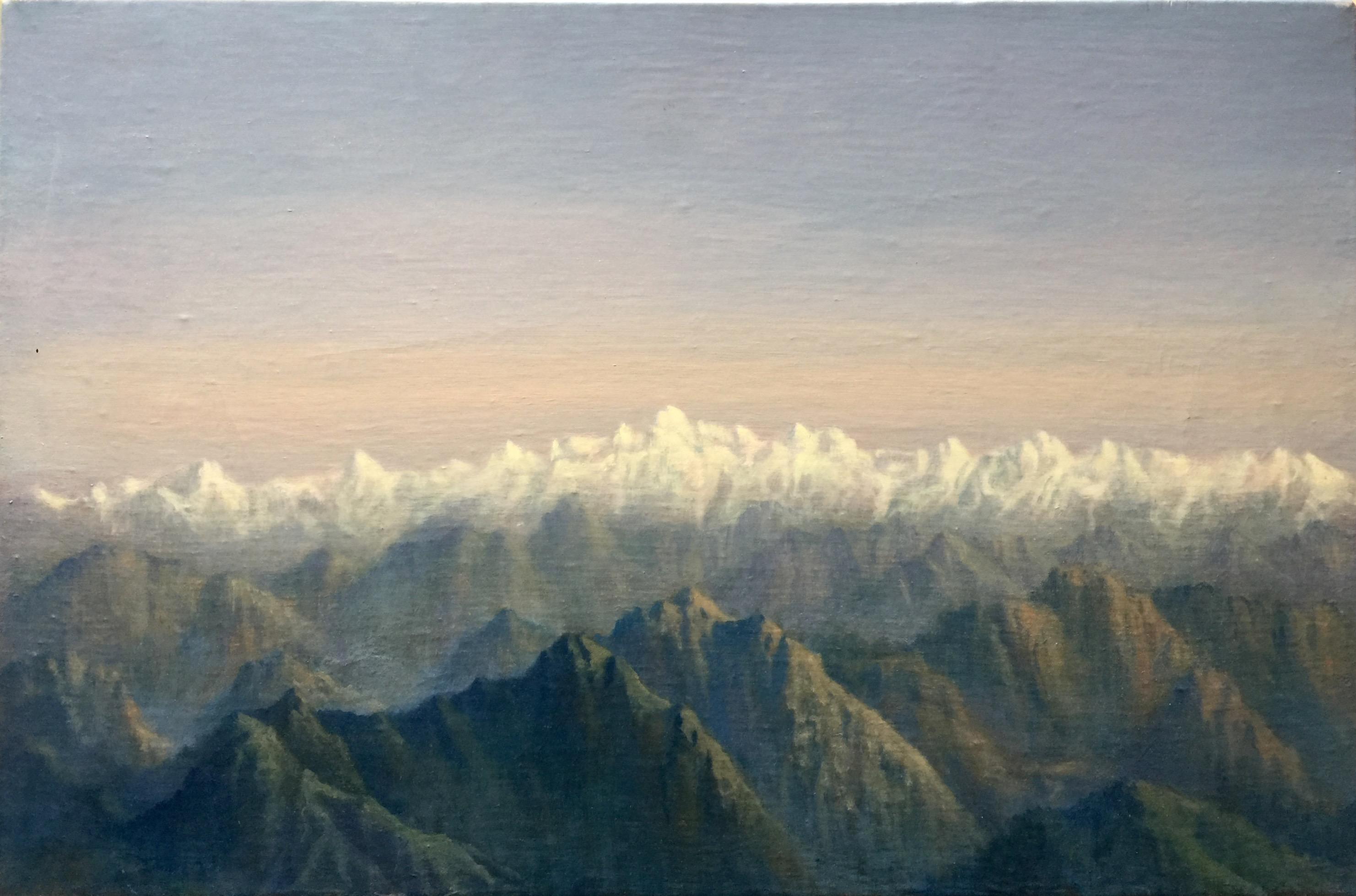 Tobit Roche: Himalayan Landscape No.3