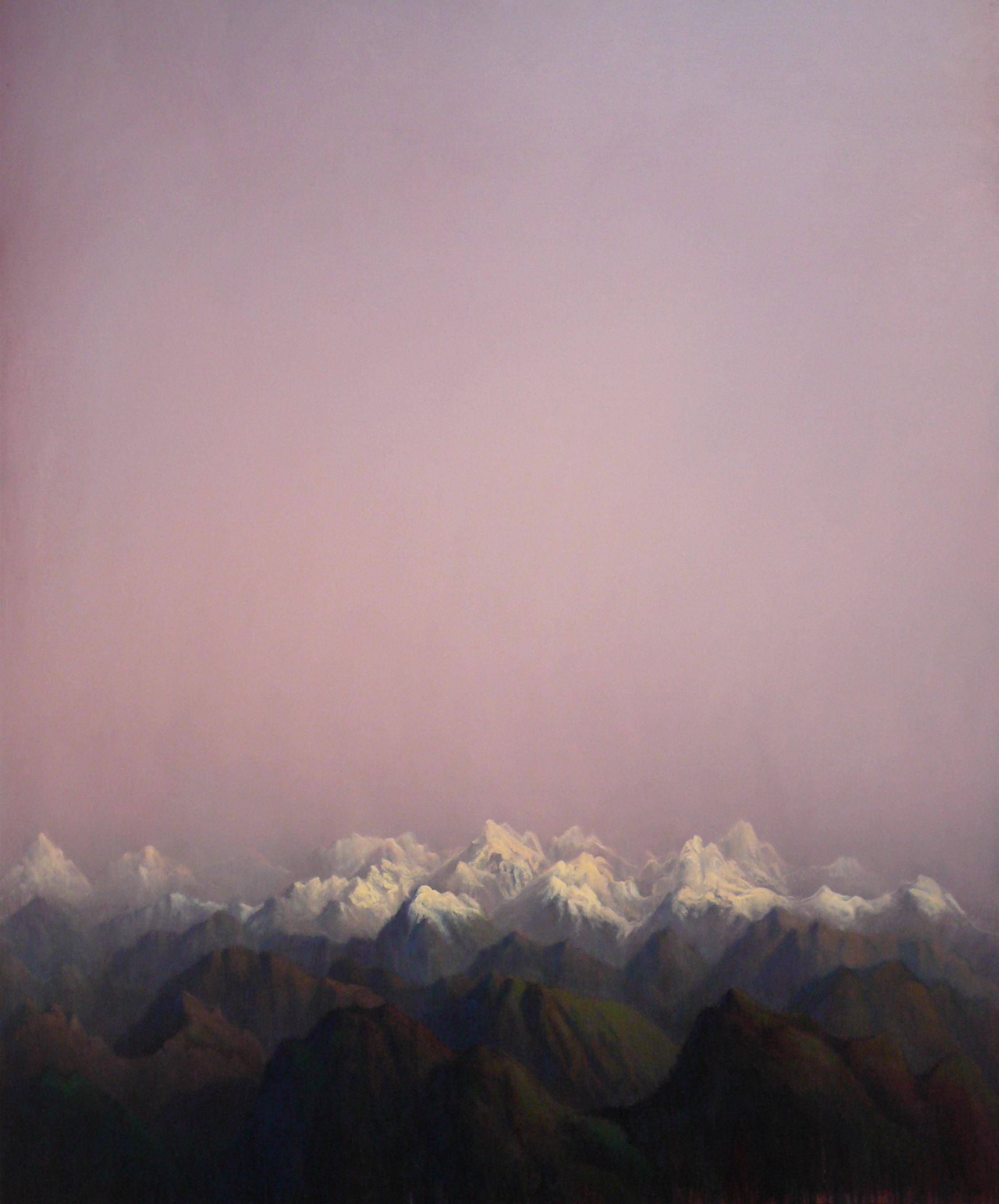 Tobit Roche: Himalayan Landscape No.7