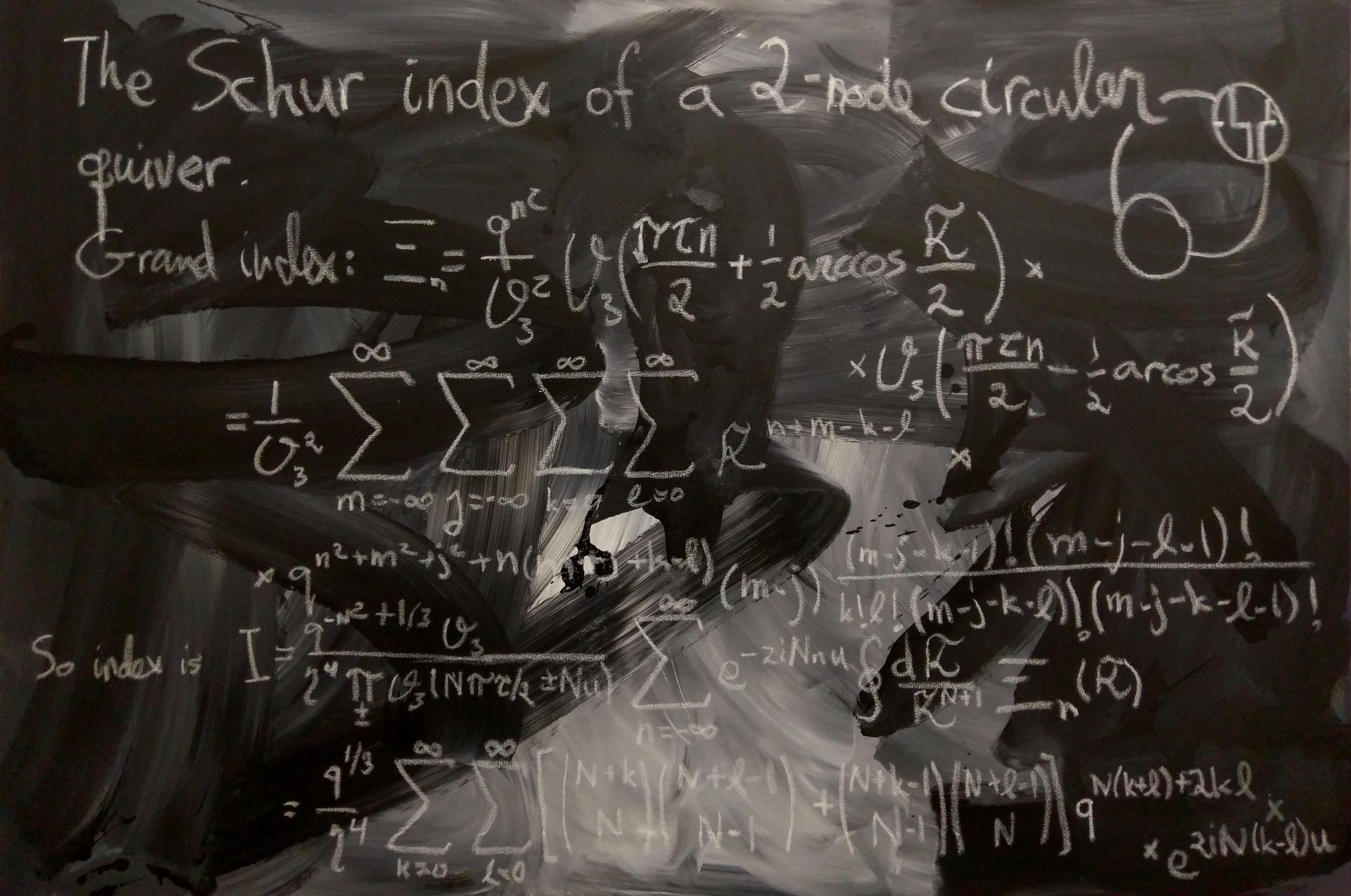 : A 2-node circular quiver theory No.1