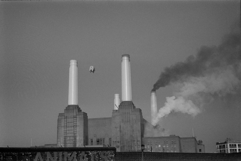 Carinthia West, The Pig and the Power Station 1976, 95 x 120